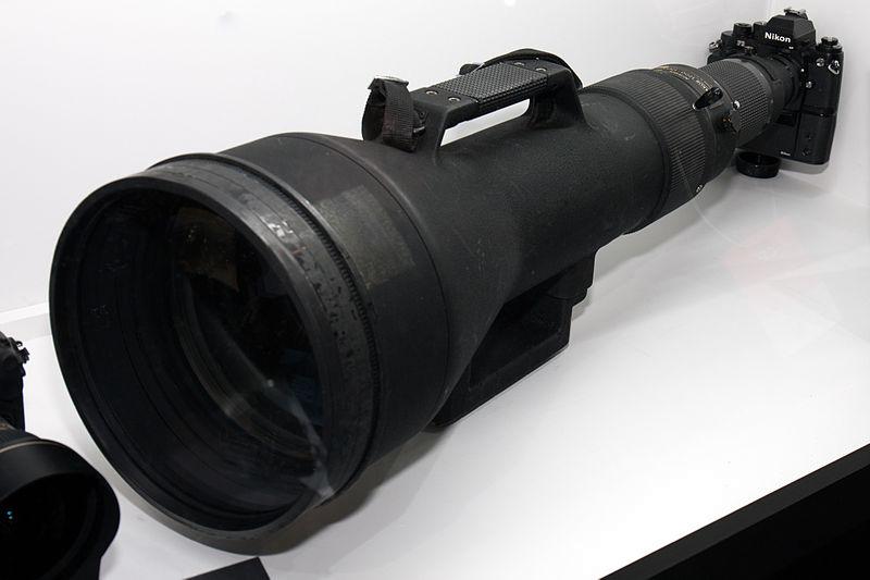 Nikon super zoom lens image