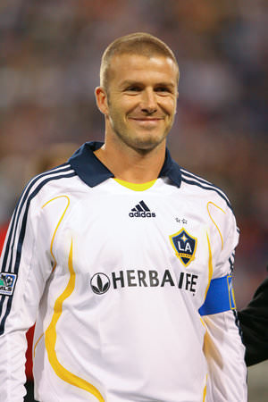 David Beckham Nov 11 2007 image