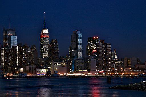 New York City at night-0 image