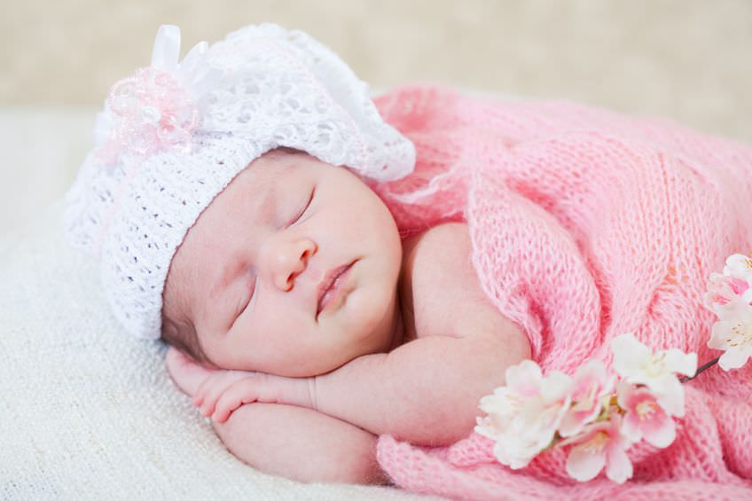 Открытки новорожденных детей девочек красивые