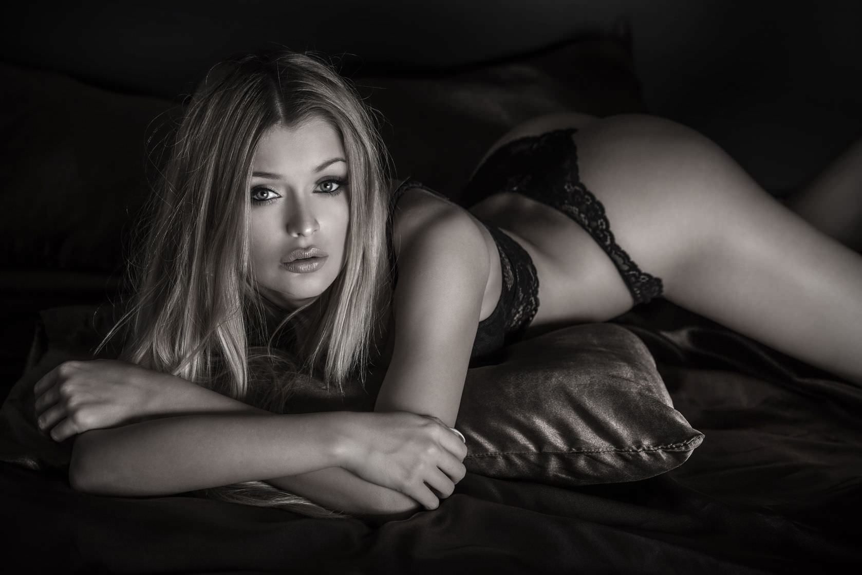 Woman in Lingerie image