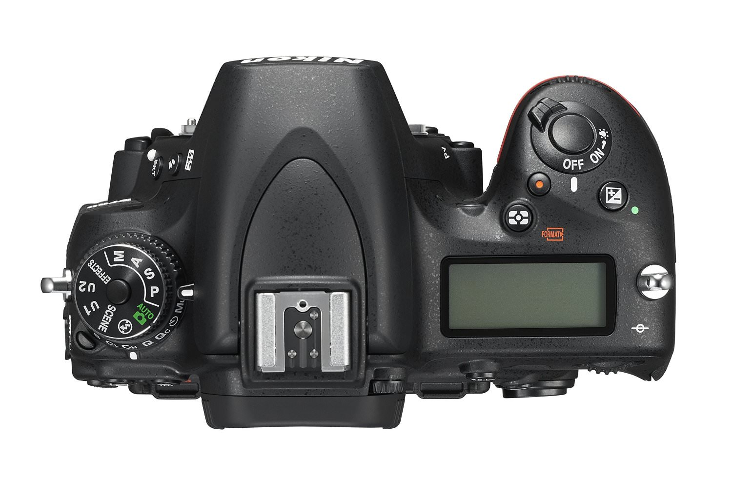 D750 Camera Top View image