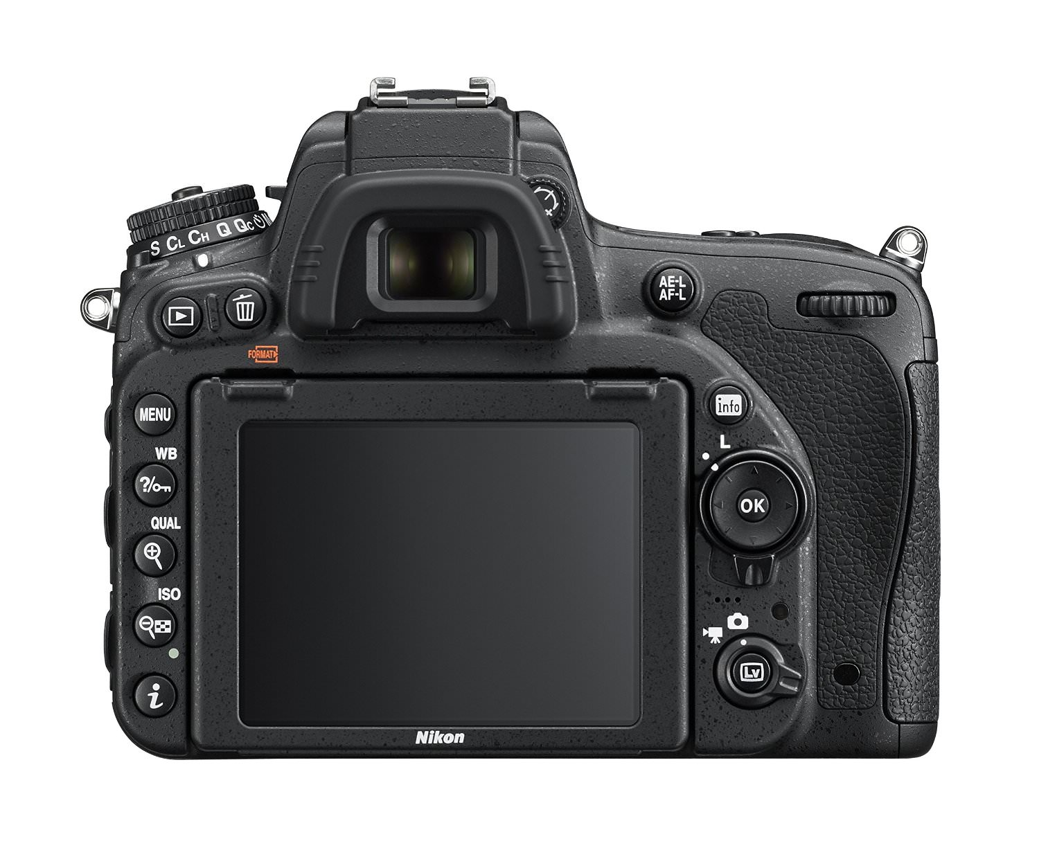 D750 Camera Rear View image