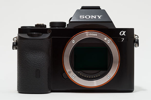 Sony Alpha ILCE-7 A7 full-frame camera no body cap image