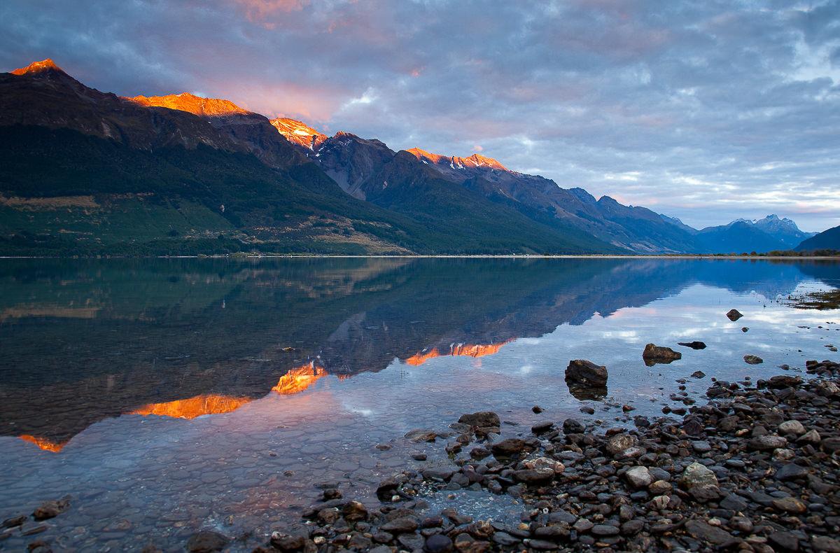 090316 NZ Lake Wakatipu Glenorchy 01 image