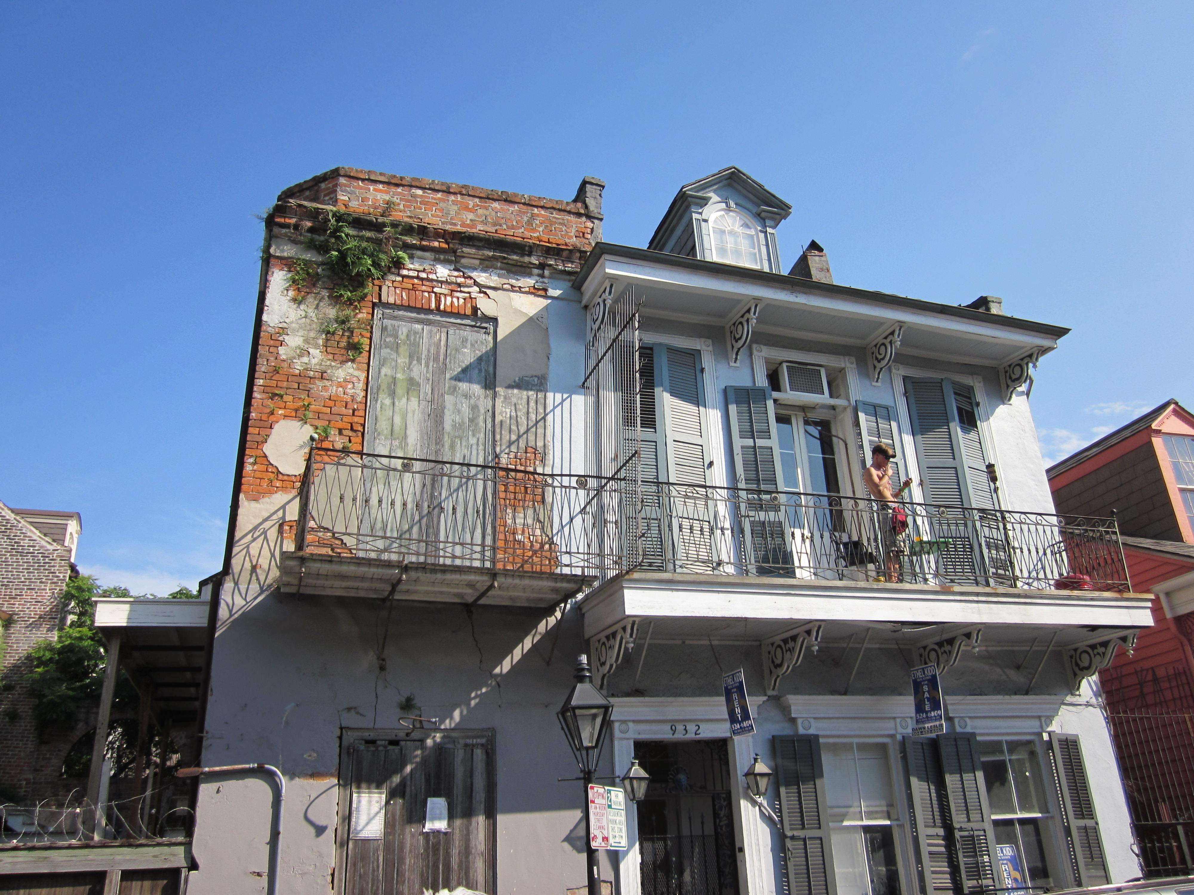 Bourbon Balcony NOLA image