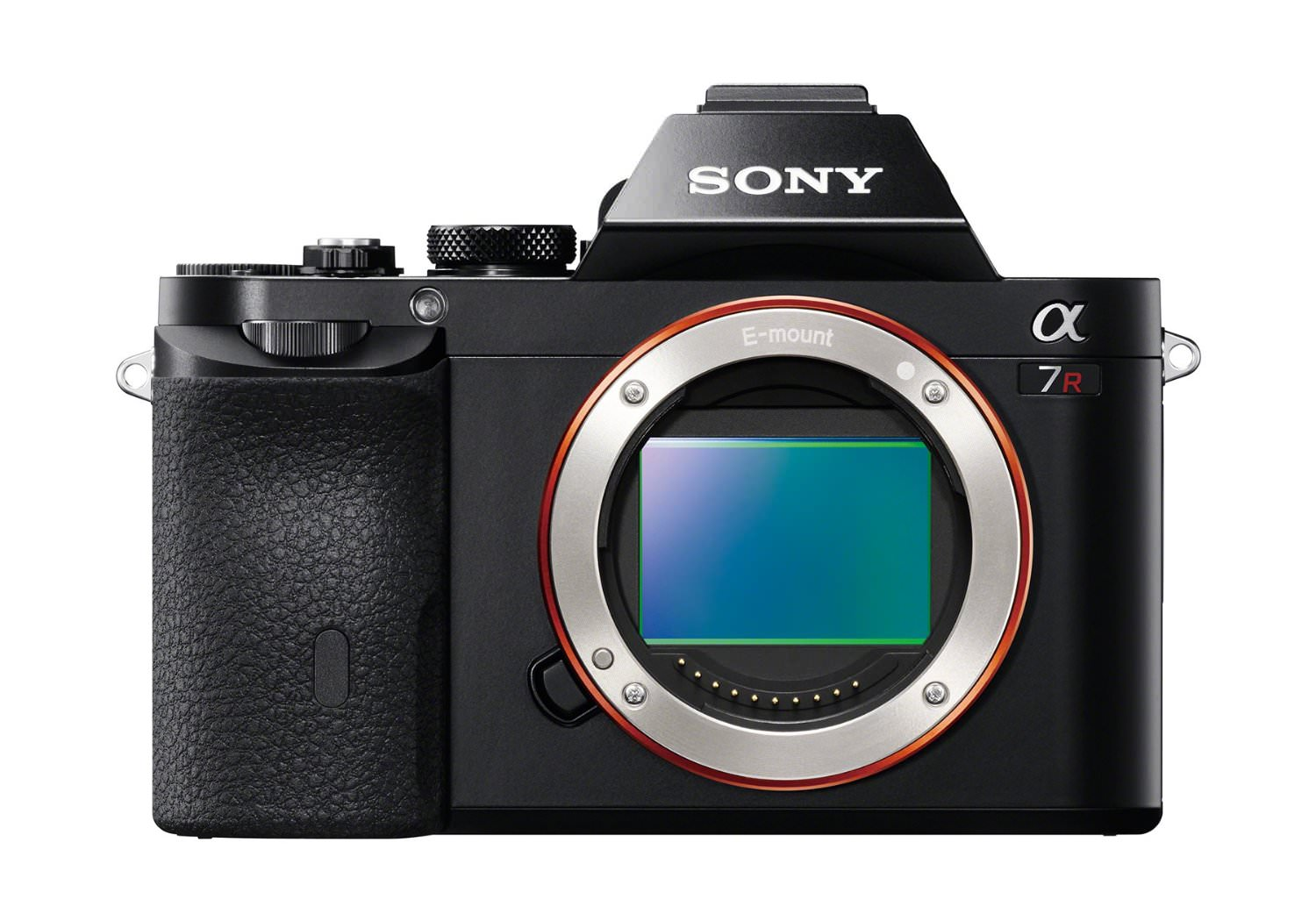 sony a7r full frame body front image