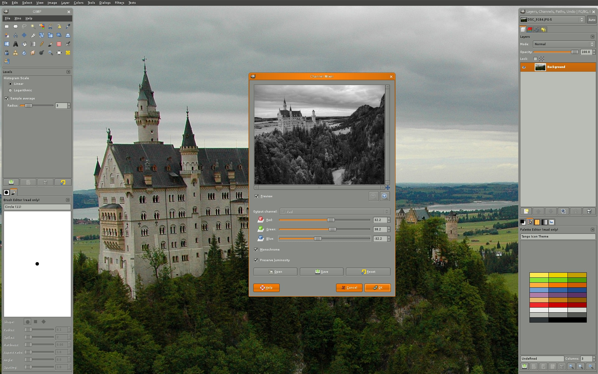 linux mixer image