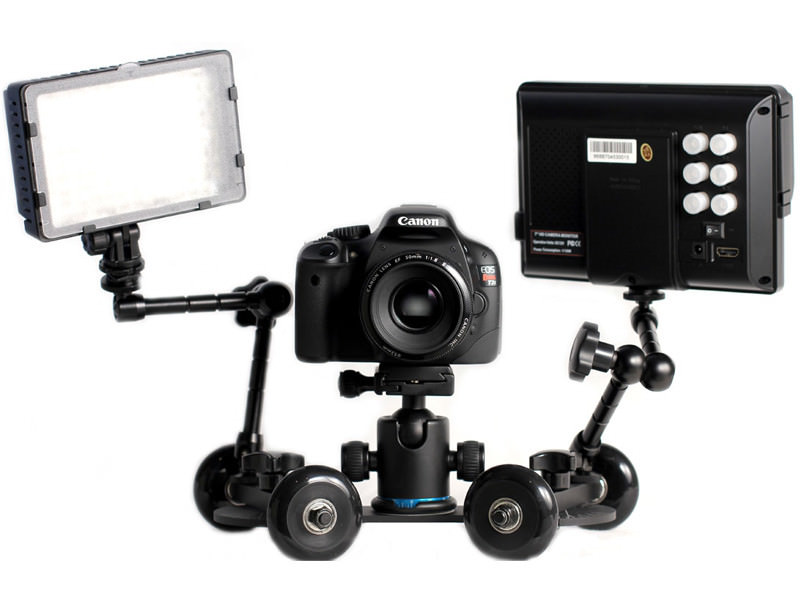 revolve camera dolly accessories video light monitor 2 1024x1024 image