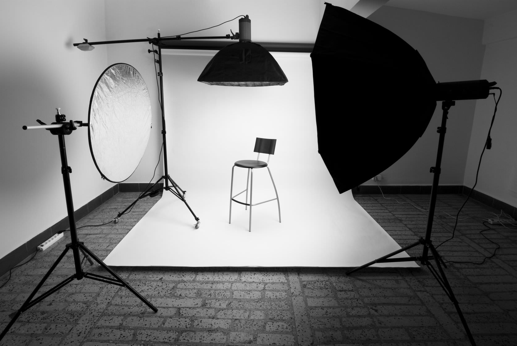 Setting up a photography studio requires some wise investments. Here are the best choices for three different budgets. image
