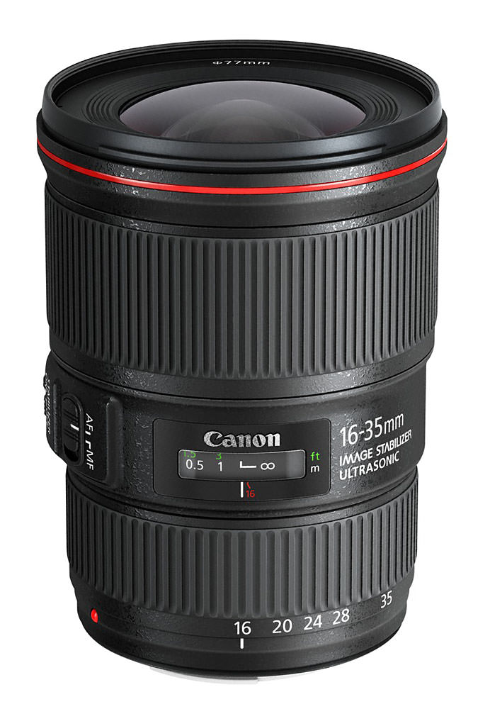 Canon 16 35mm f4L IS image