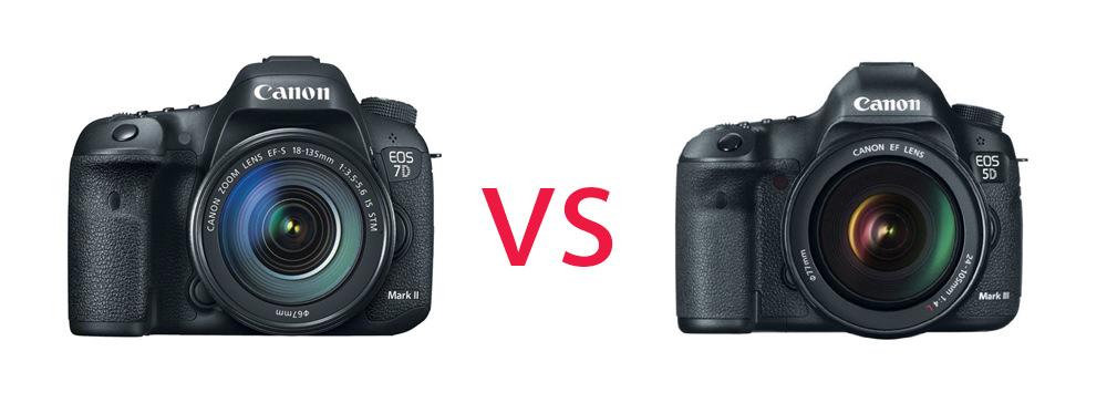 Canon 5DMK III vs 7D MK II image
