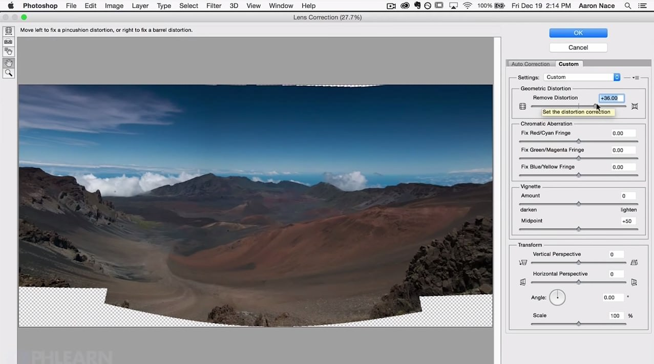 How to Make a Panorama in Photoshop image