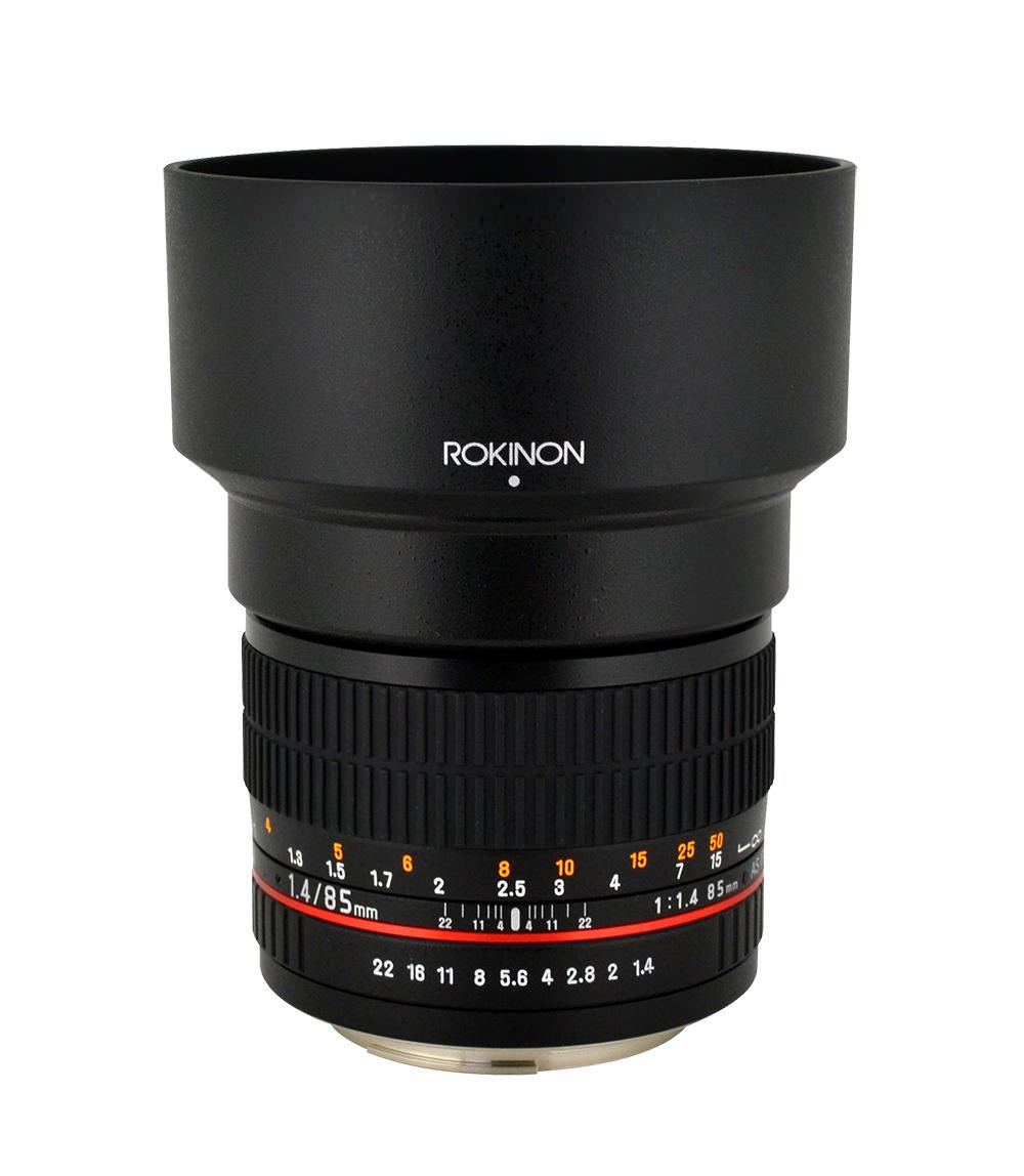 The Rokinon 85mm f/1.4 Tele Portrait Lens image