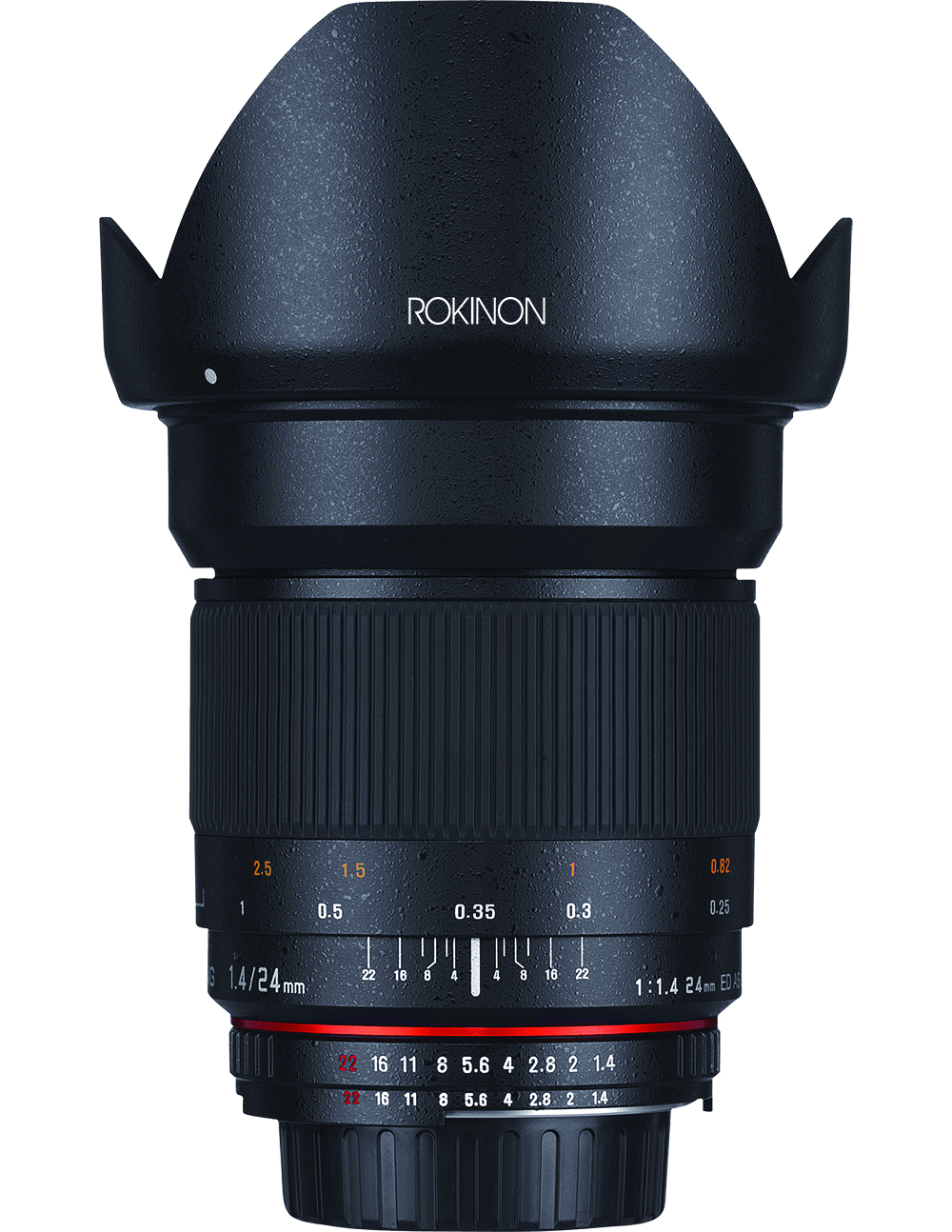 Rokinon 24mm f1.4 front image