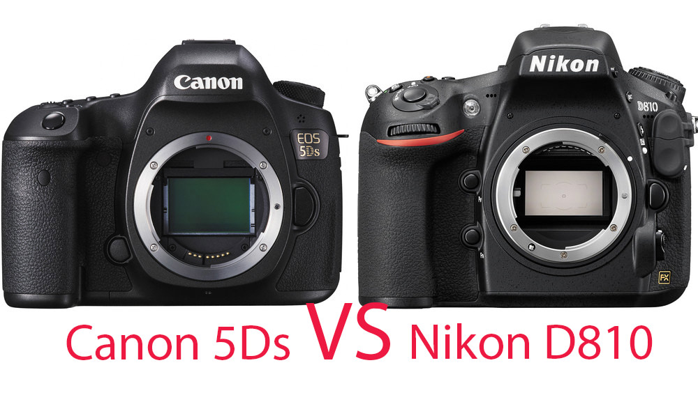 Canon 5Ds vs. Nikon D810