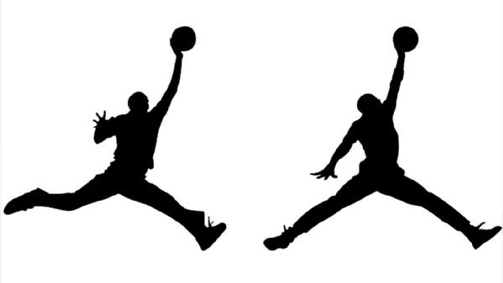 Michael Jordan silhouette image