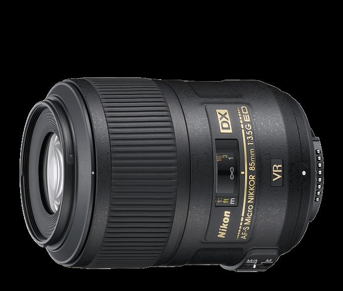 2190 af s dx micro nikkor 85mm f35g ed vr front 3 image