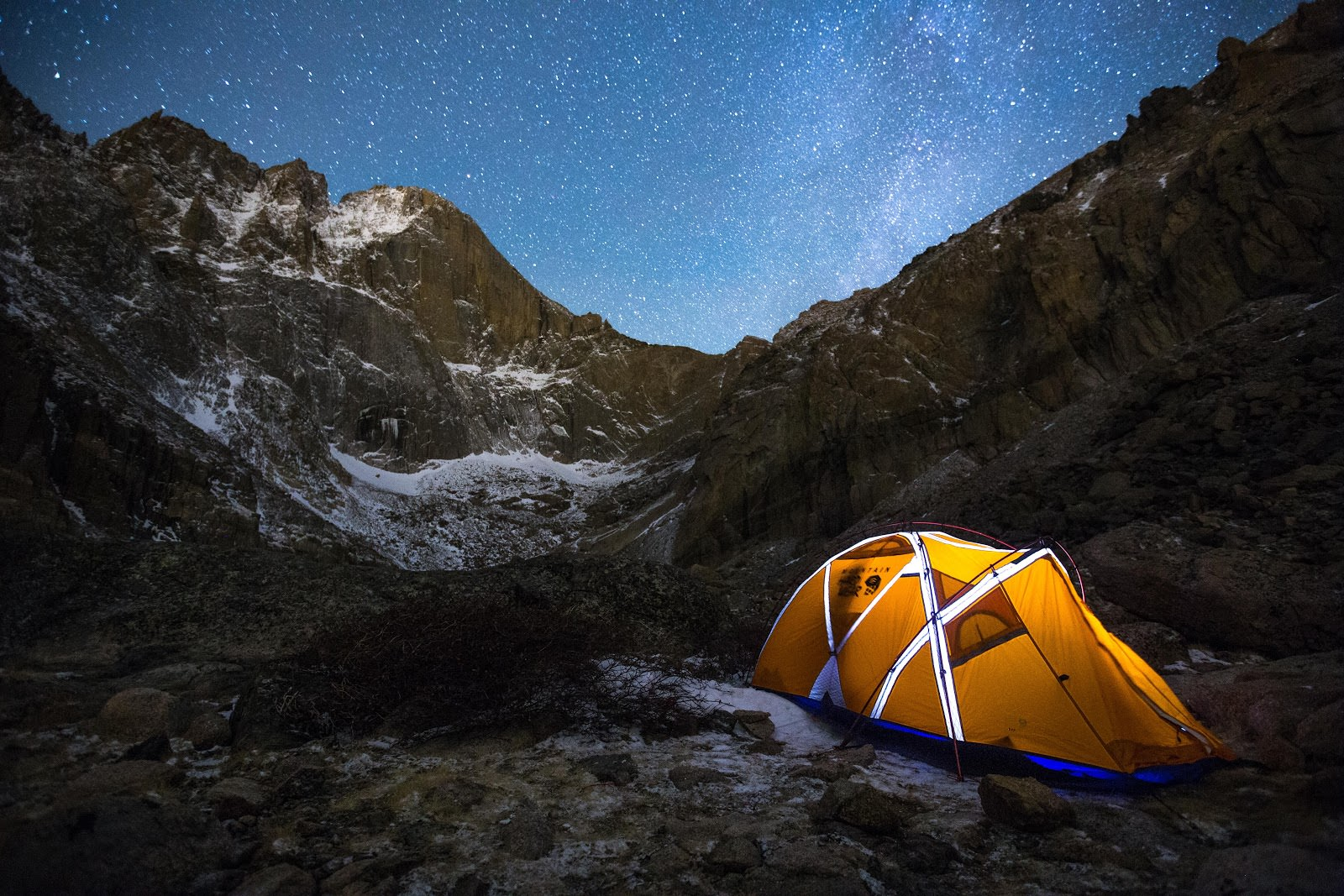 Camping at 11,800ft in the Rocky Mountains. Taken with Pulse. image