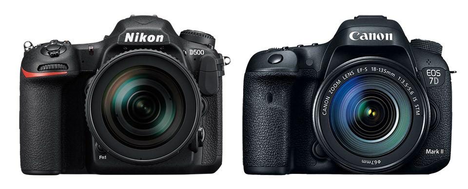 Nikon D500 vs. Canon 7D MK II image
