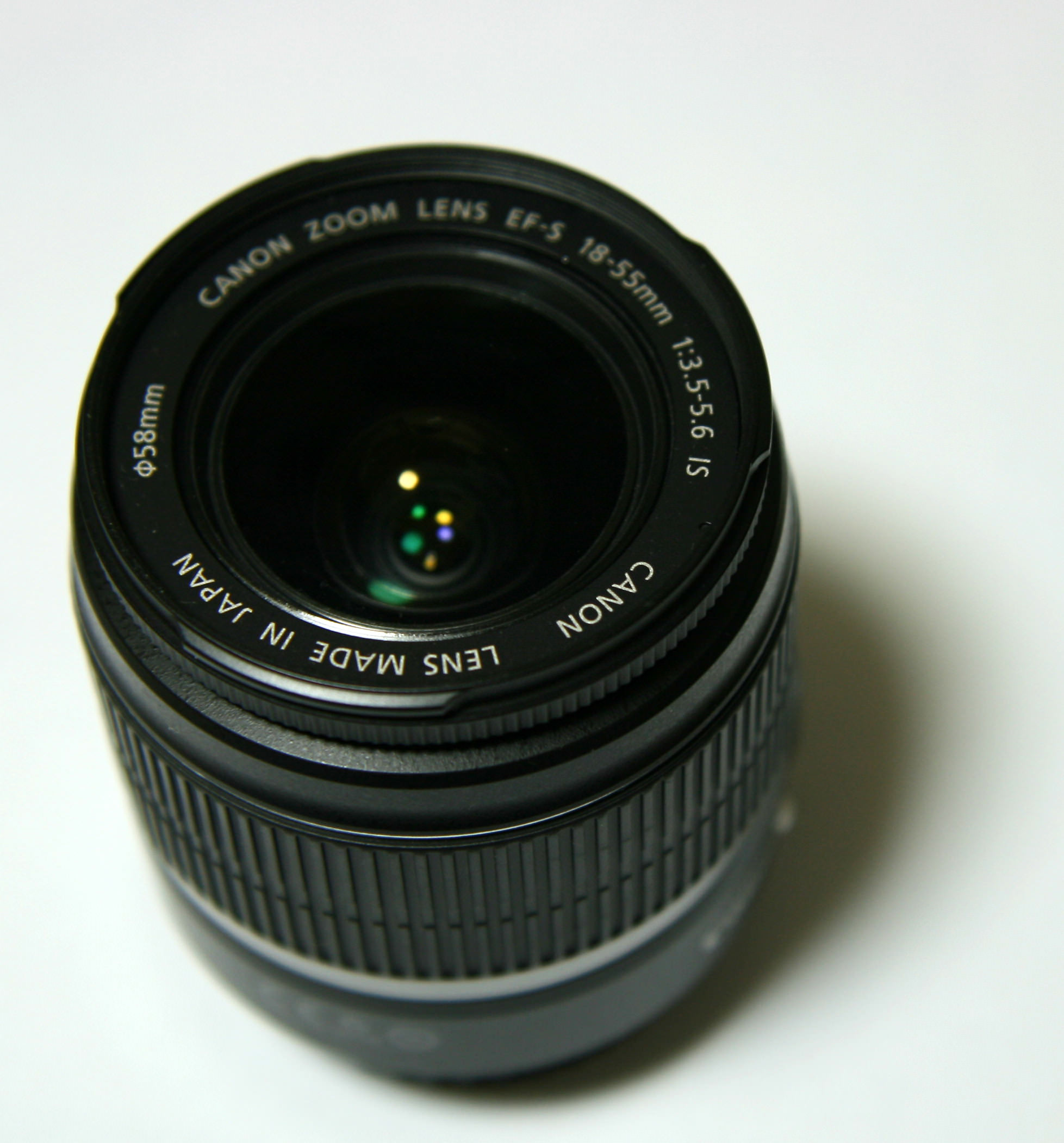 Canon EF S 18 55mm F3.5 5.6 IS lens image
