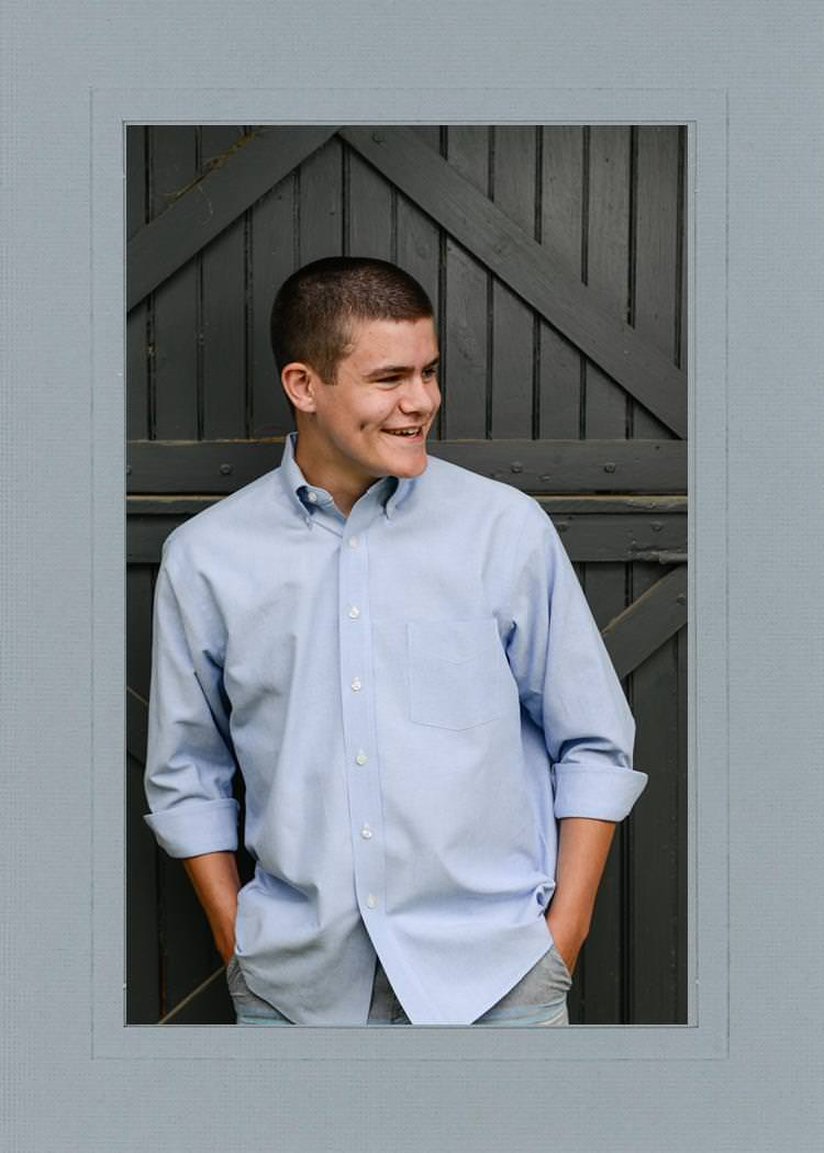 JD senior picture image