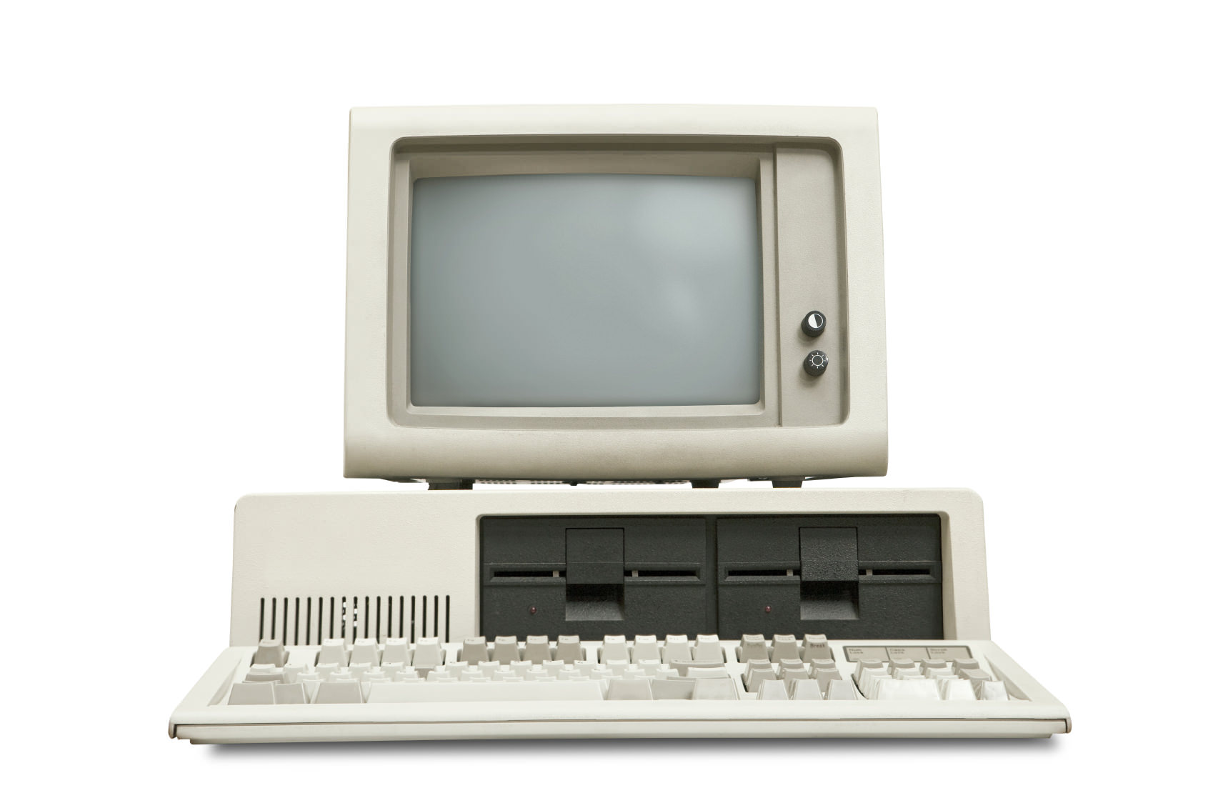 old personal computer image