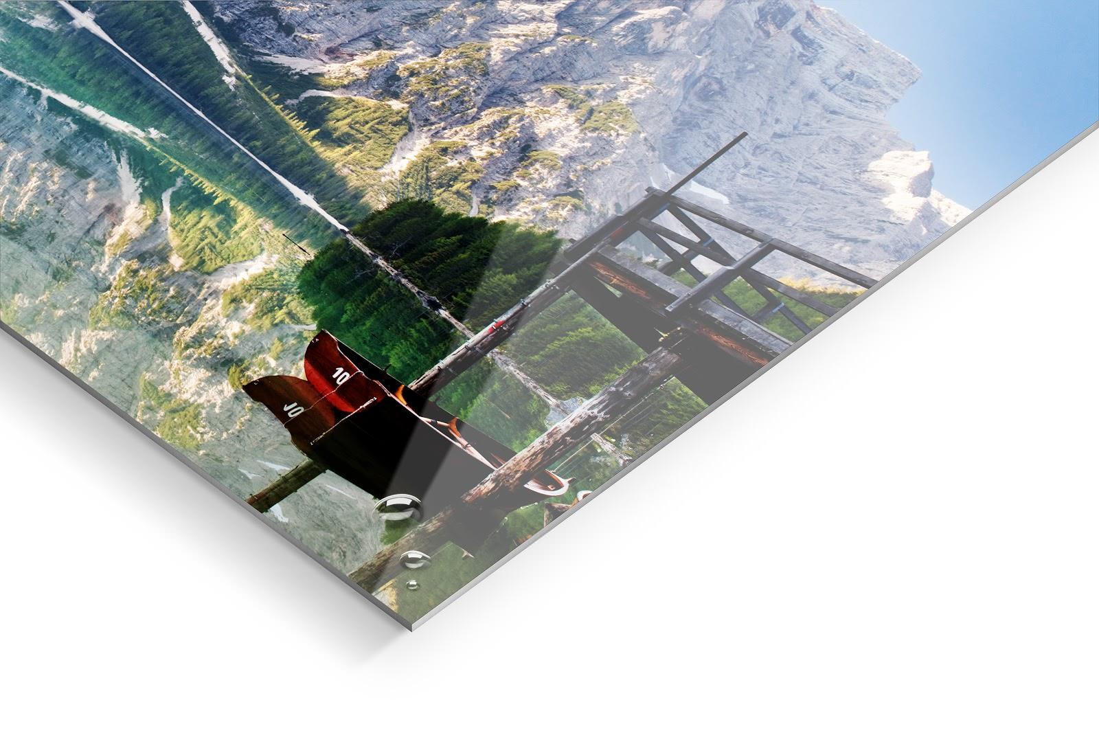 HD Metal Print glossy image