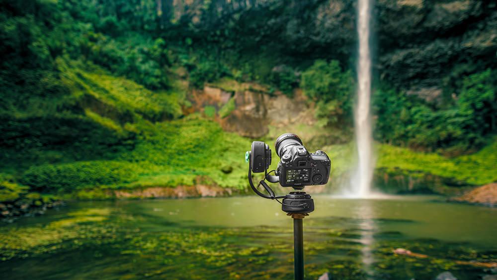 Pan Tilt Raglin Waterfall image