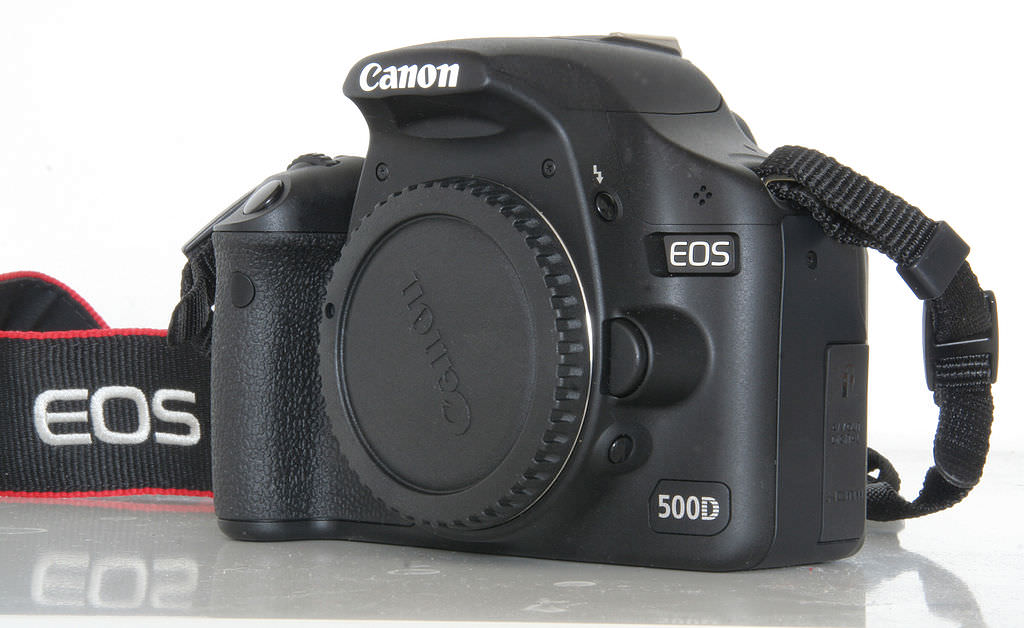 1024px Canon EOS 500d voorzijde image