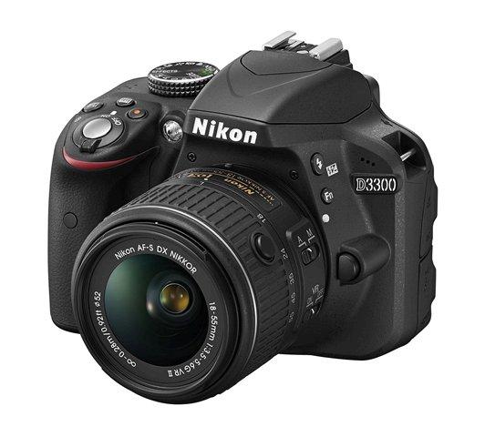 D3300 BK 18 55 VR2 frt34l.low image