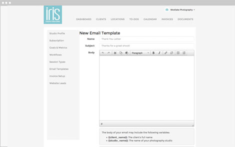irisworksmessages image