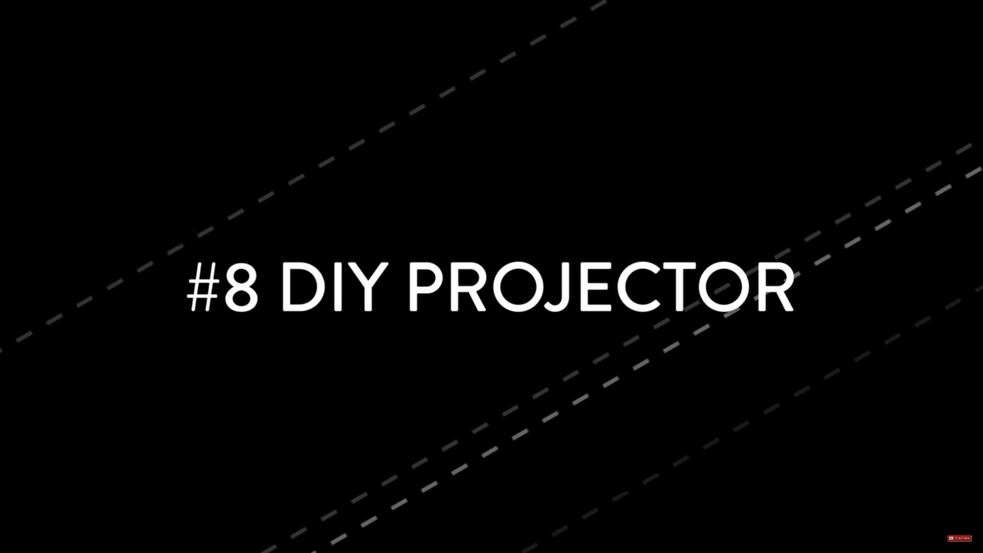 diyprojector min image