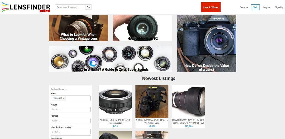 lensfinder image
