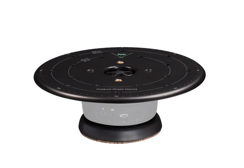 0025 0001 Product Turntable Black image