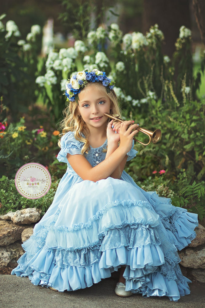 girls nelle blue rain lavender blue Paulina Martinez web res little boy blue sew trendy retreat 2017 sew trend image