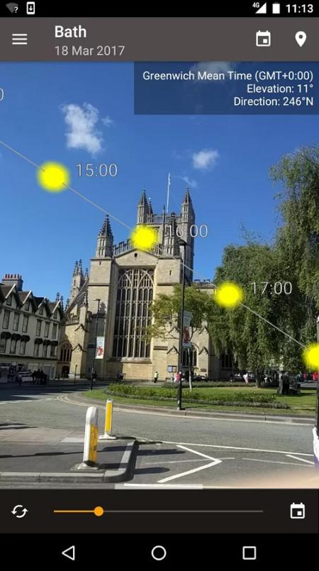 sun position image