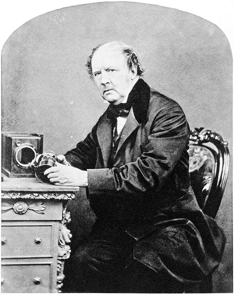 474px William Henry Fox Talbot by John Moffat 1864 image