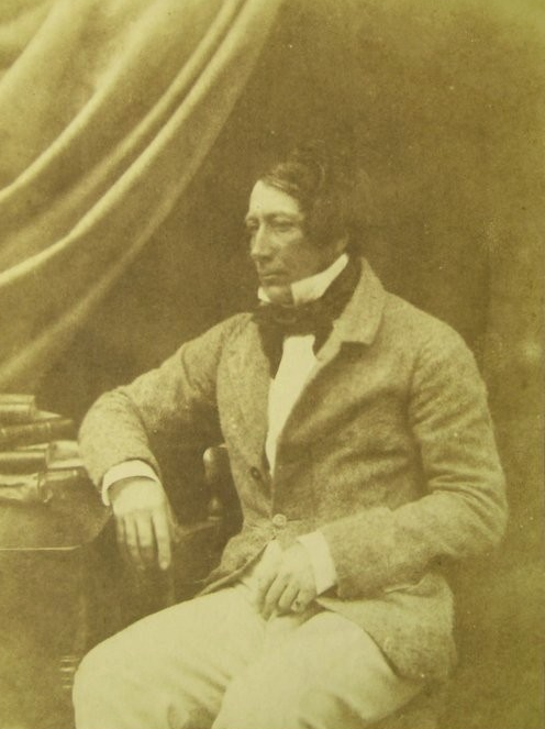 James Ogilvie Fairlie 1840s salt paper calotype image