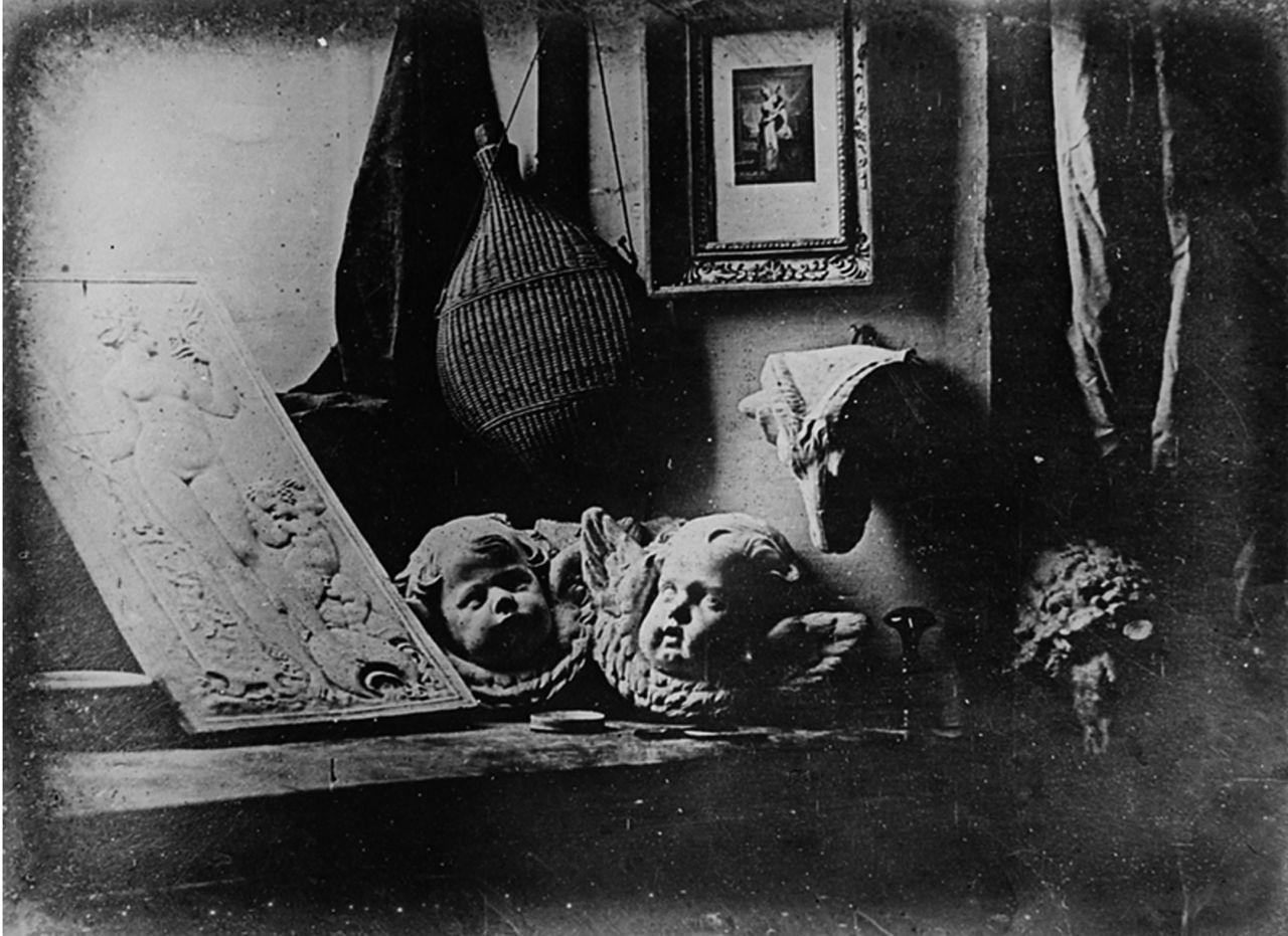 Daguerreotype Daguerre Atelier 1837 image