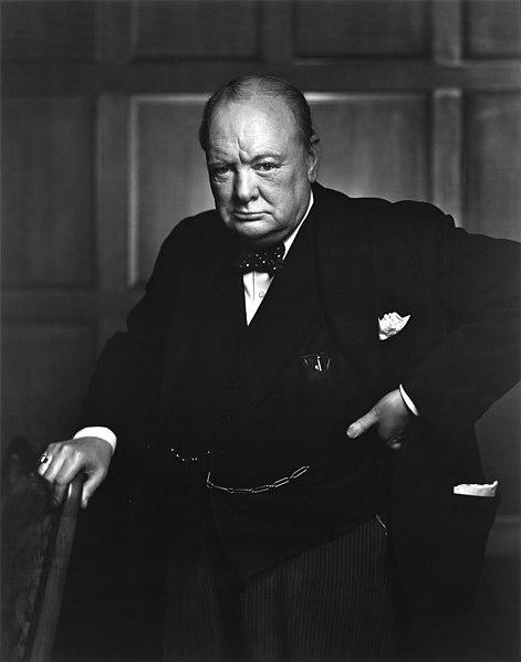 471px Sir Winston Churchill 19086236948 image
