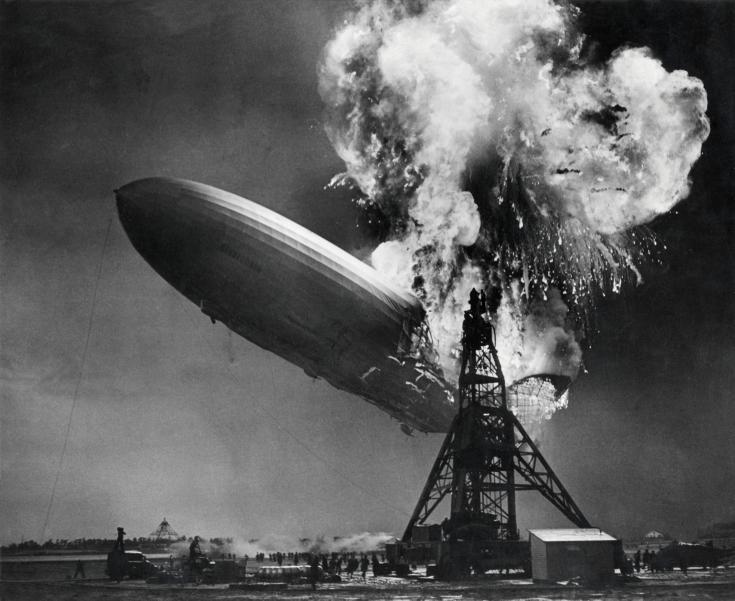 Hindenburg disaster image