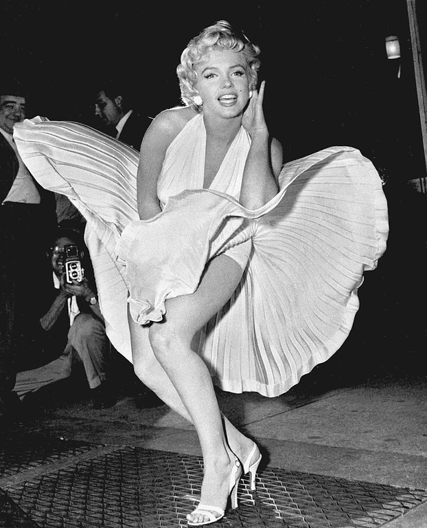 Marilyn Monroe photo pose Seven Year Itch image