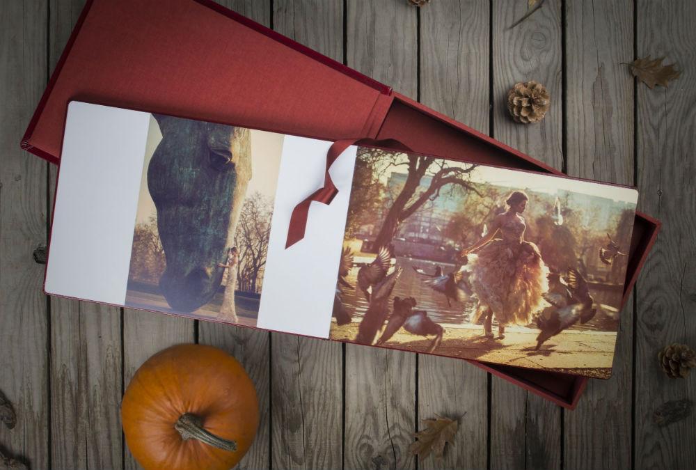 red album box image