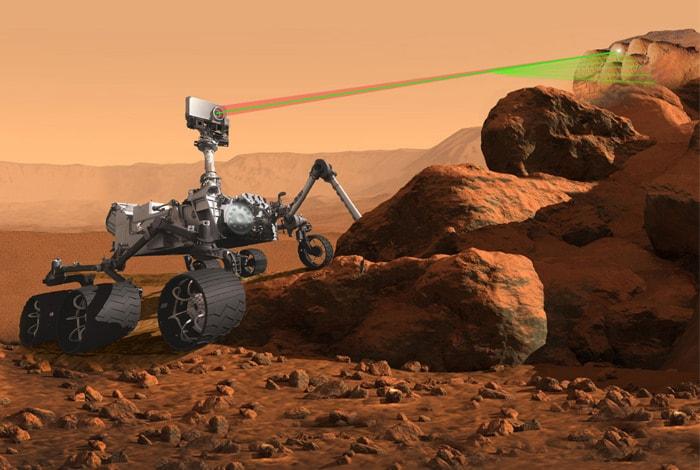 Mars 2020 Artist Concept Instrument SuperCam full min image