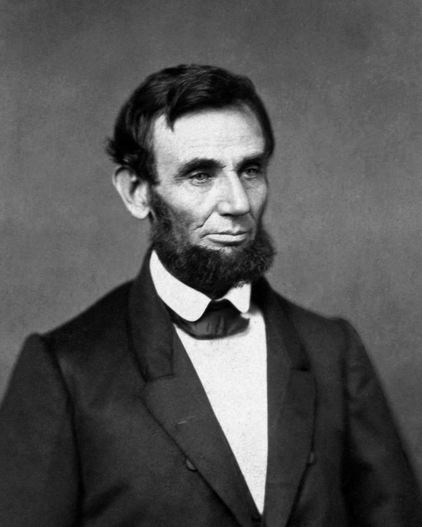 Abraham Lincoln O 55 1861 crop image