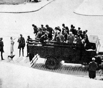 Lapanka zoliborz warszawa Polska 1941 image