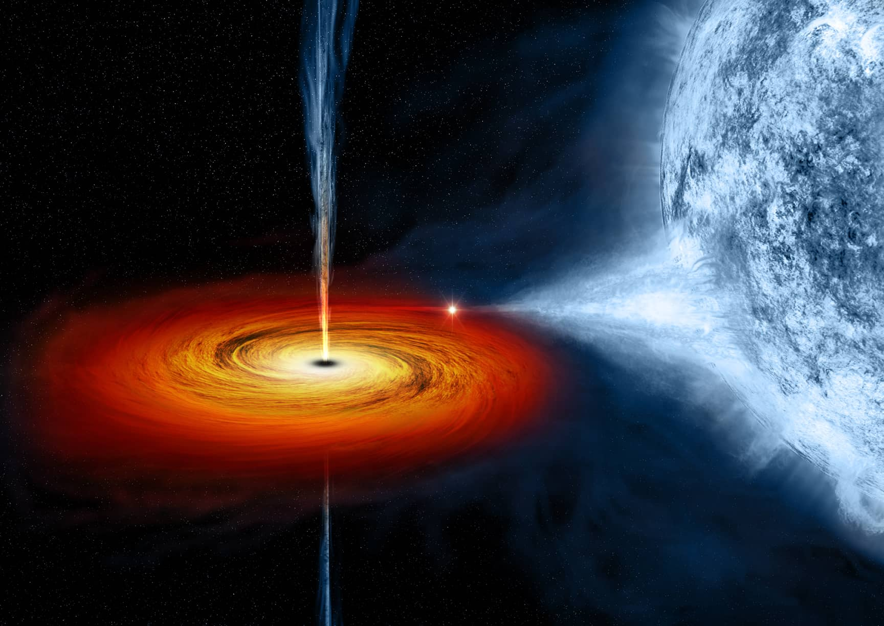 First Ever Images of Supermassive Black Hole From Center of Our Galaxy