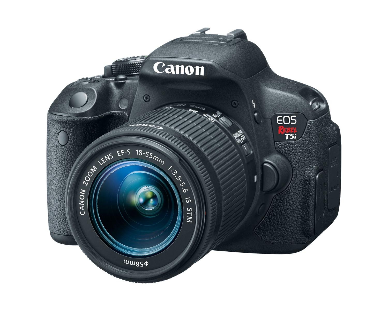 canon eos rebel t5i ef s 18 55mm is stm lens 3q hires image