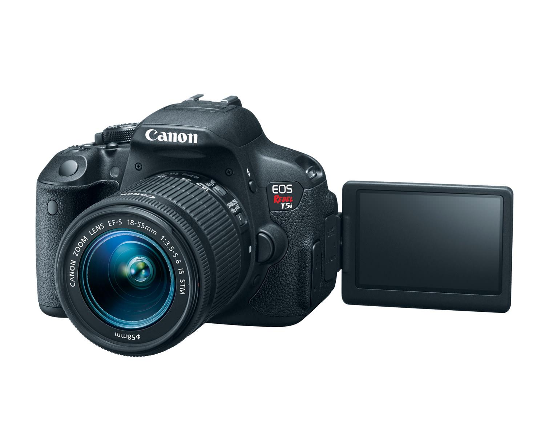 canon eos rebel t5i ef s 18 55mm is stm lens 3q open hires image
